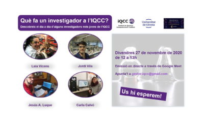 Què fa un investigador a l'IQCC?