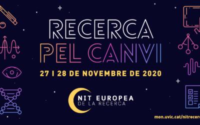 La UVic-UCC participa per primera vegada a la Nit Europea de la Recerca coordinant el node de la Catalunya Central