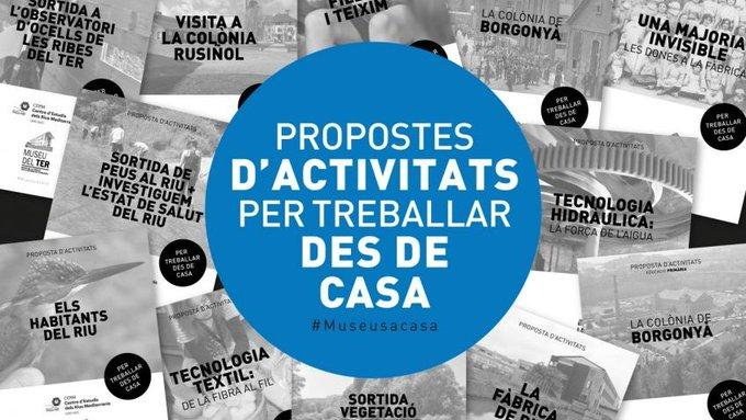 Activitats educatives online del Museu del Ter i del Centre d'Estudis dels Rius Mediterranis