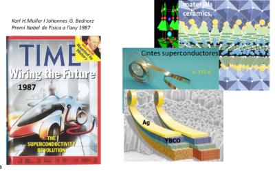Nous materials: ceràmica i superconductivitat. Matí de la Recerca