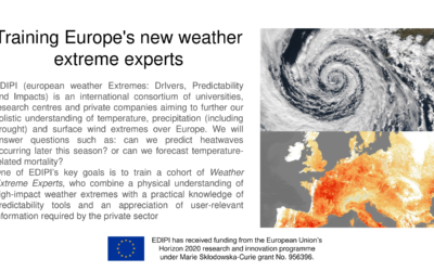 EDIPI – European Weather Extremes: Drivers, Predictability and Impacts