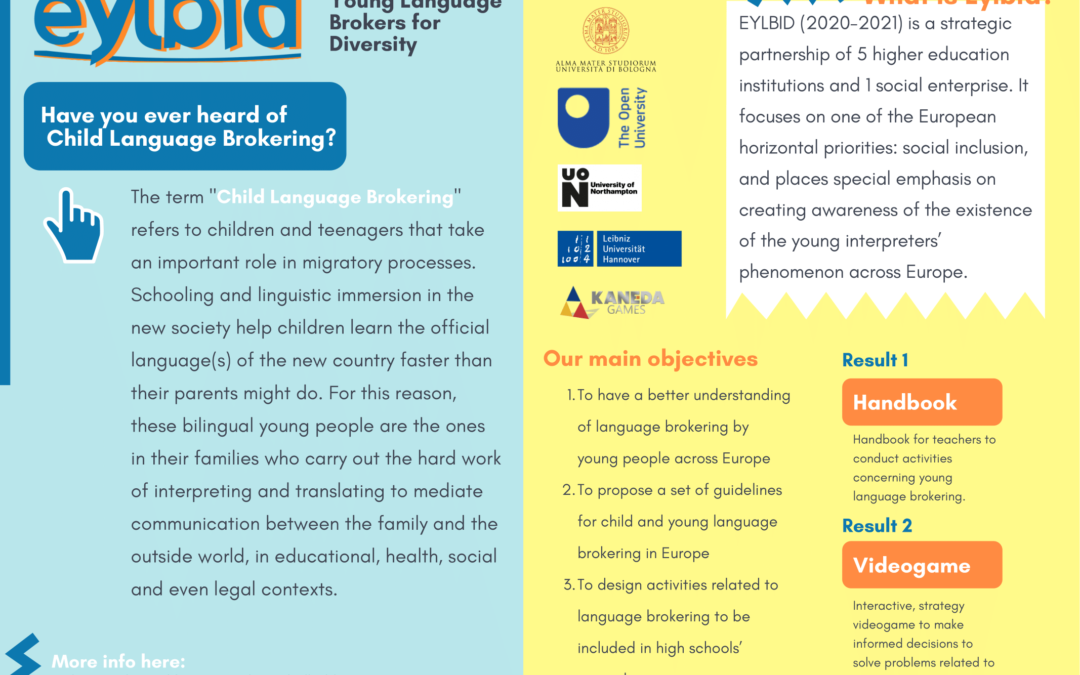 EYLBID (Empowering Young Language Brokers for Inclusion in Diversity)