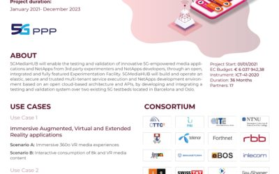 5GMediaHUB (5G Experimentation Environment for 3rd Party Media Services)