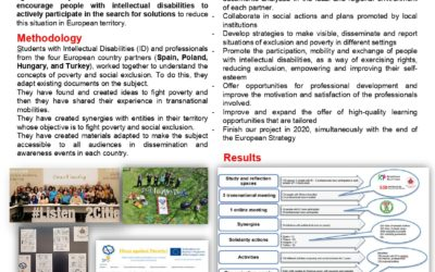 IDeas against poverty! Citizens with Intellectual Disability act to reduce social exclusion and poverty (Europe 2020 Strategy)