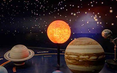 Planetario burbuja. Actividad de iniciación astronómica