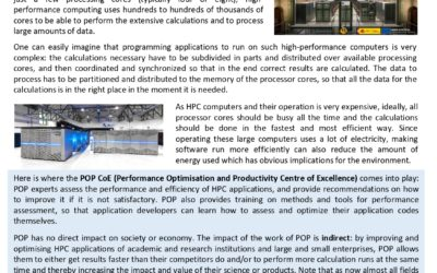 Performance Optimization and Productivity Centre of Excellence (POP2)